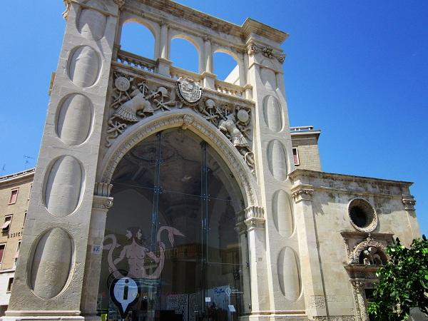 sedile di Lecce
