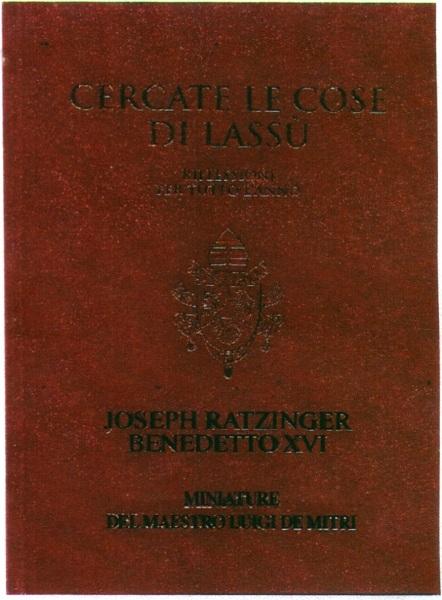 Libro Benedetto XVI