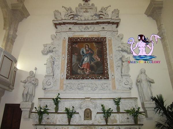 chiesa dell'Immacolata a Minervino