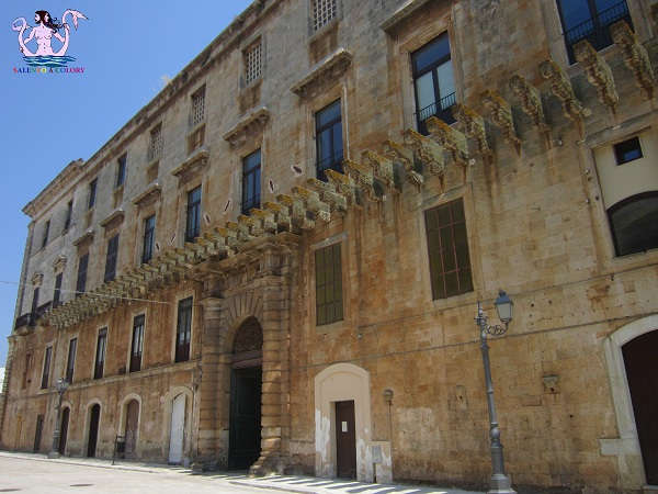 palazzo de lorenzi a casarano