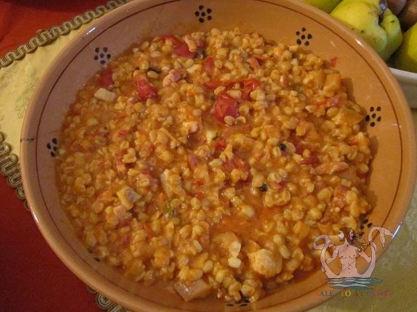 zuppa di grano