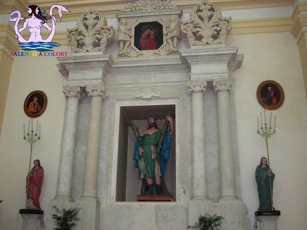 chiesa matrice di andrano interni