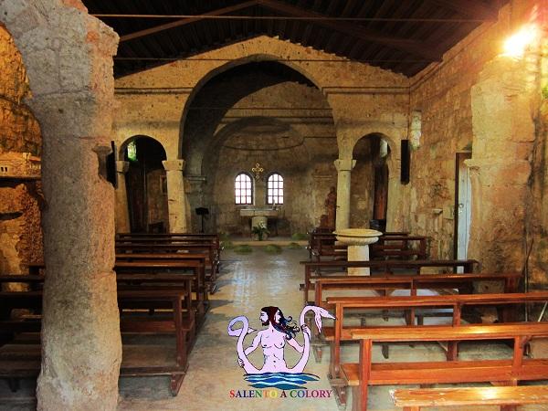 chiesa di santa eufemia a specchia interni