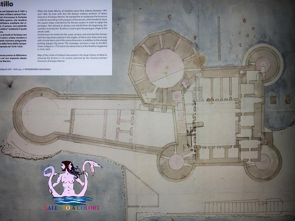 9 mappa castello gallipoli