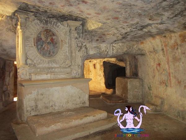 cripta della coelimanna