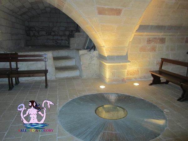 sotterranei chiesa di ruffano