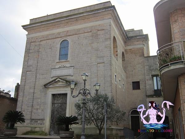 chiesa matrice di collepasso, serre salentine