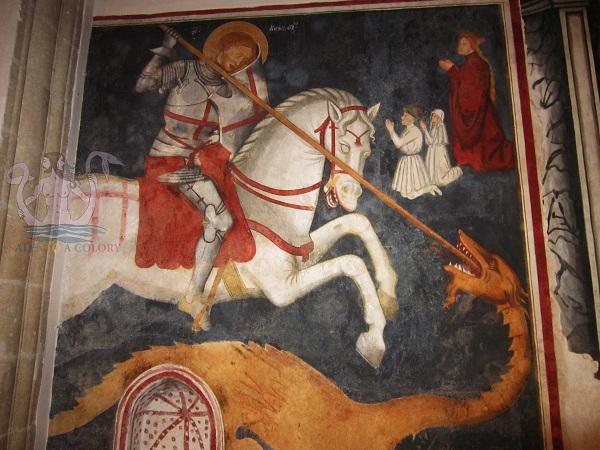 san giorgio santa caterina galatina