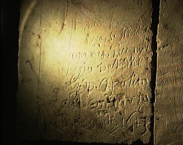 graffiti del 1600