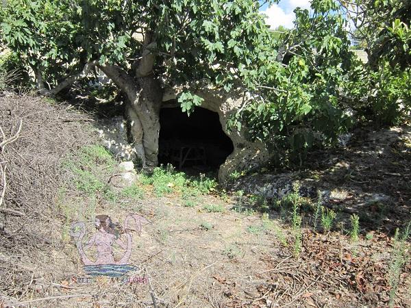 cripta di san nicola a borgagne, storia nelle campagne