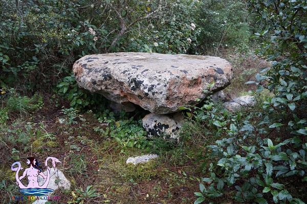 dolmen grotta, maglie megalitica