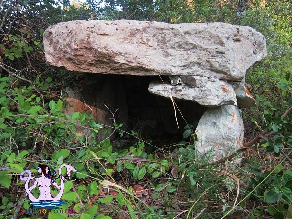 dolmen masseria nuova, maglie megalitica