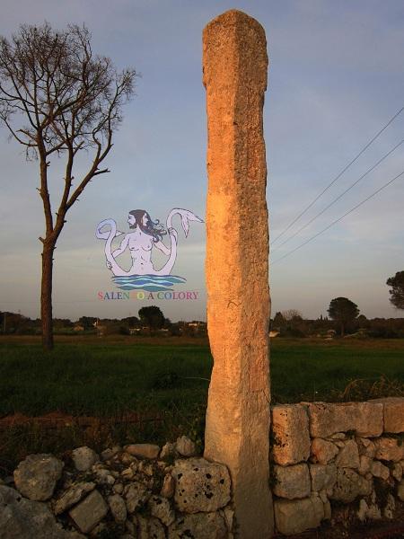 menhir crocemuzza, maglie megalitica