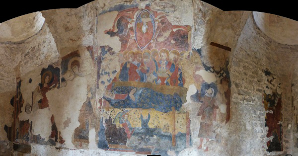 Affresco cattolica di stilo
