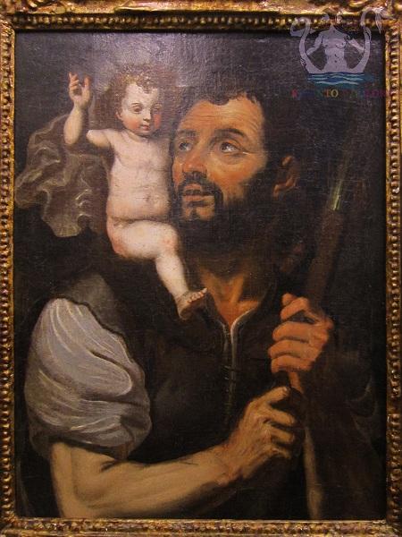 S.CristoforoconBambino-copiadaGiovanBernardinoAzzolinoXVIIsec