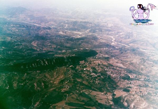 Viaggio in Italia San Marino dall'alto