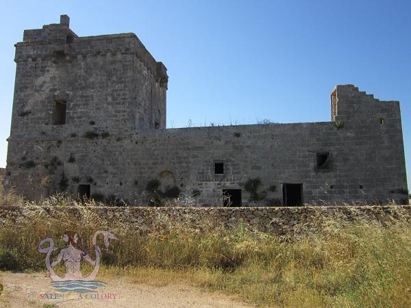 masserie fortificate del salento, masseria grande surano