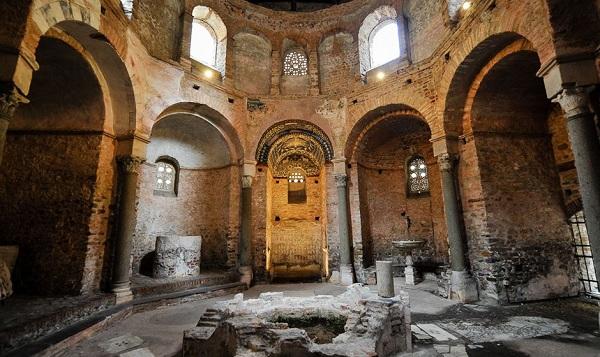 Il Battistero paleocristiano di Albenga