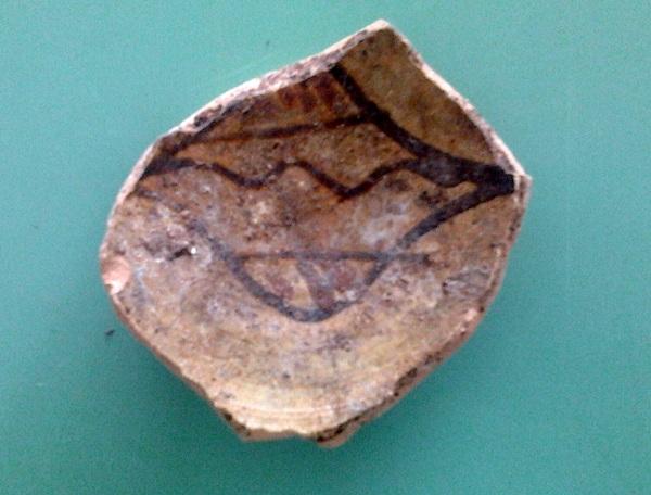 ceramica medievale stemma orsini