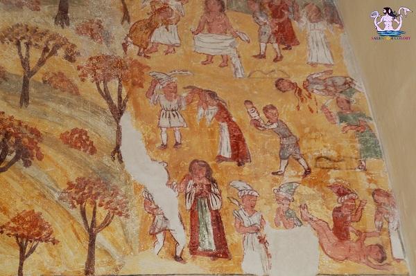 L'affresco del Cria a San Pancrazio
