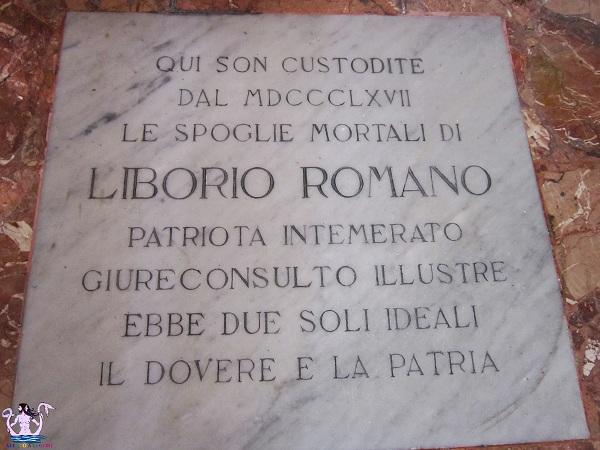 epigrafe liborio romano