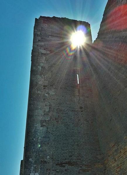 Lucera il castello di Federico II - 3