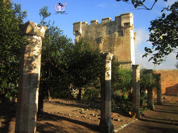 10 castello palazzo baronale di caprarica di lecce