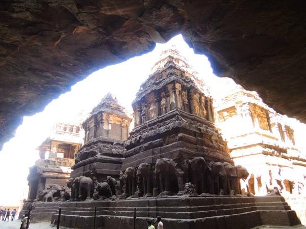 18 kailash temple india