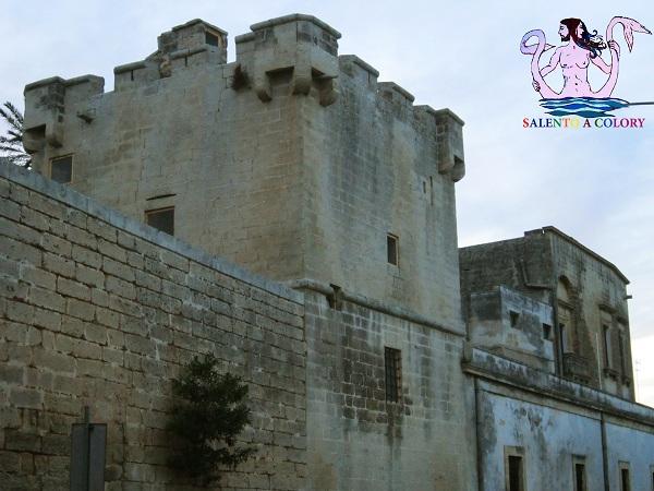 3 castello palazzo baronale di caprarica di lecce