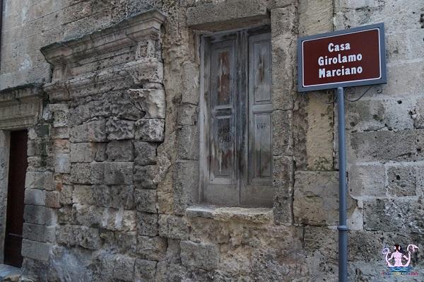 Nella casa di Girolamo Marciano