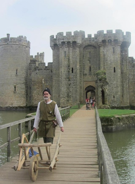 Bodiam Castle, Inghilterra