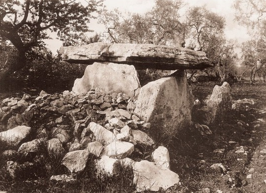 Dolmen Bisceglie (primi 1900)