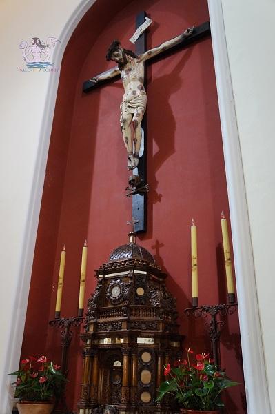 Crocifisso frate Angelo da Pietrafitta - Lequile 1