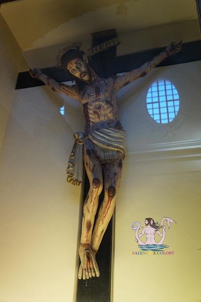 Crocifisso frate Angelo da Pietrafitta - Mesagne 1