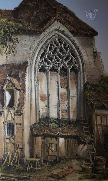Parigi medievale chiesa Saint Jean Le Bas