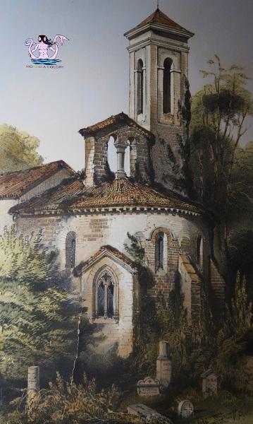 Parigi medievale chiesa Saint Maurice