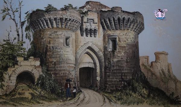 castello di malmort, parigi medievale