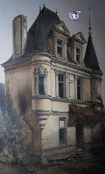 castello di villeneuve, parigi medievale