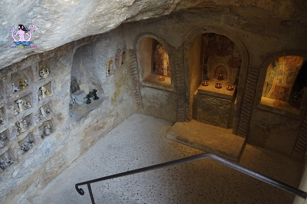 cripta nascosta di grottaglie 1