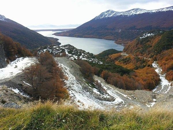 lago fagnano argentina