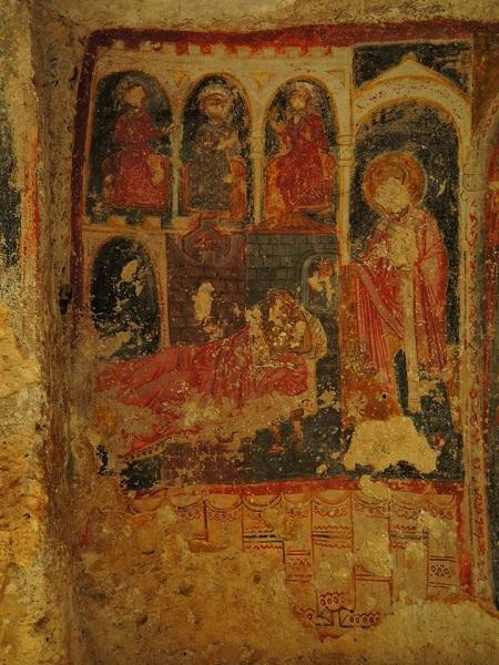 cripta di santa margherita a mottola 15