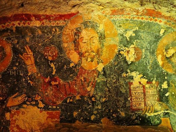 cripta di santa margherita a mottola 41