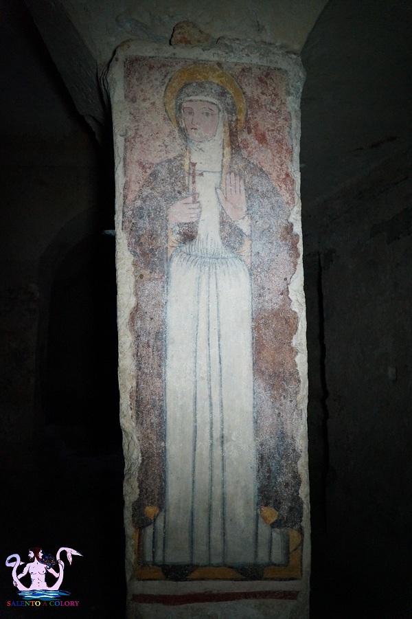 cripta del padreterno a Otranto 20 santa venera