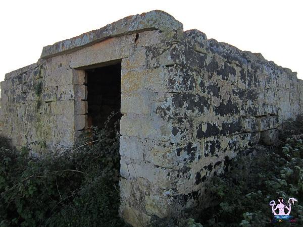 Antichi ripari presso i Massi della Vecchia