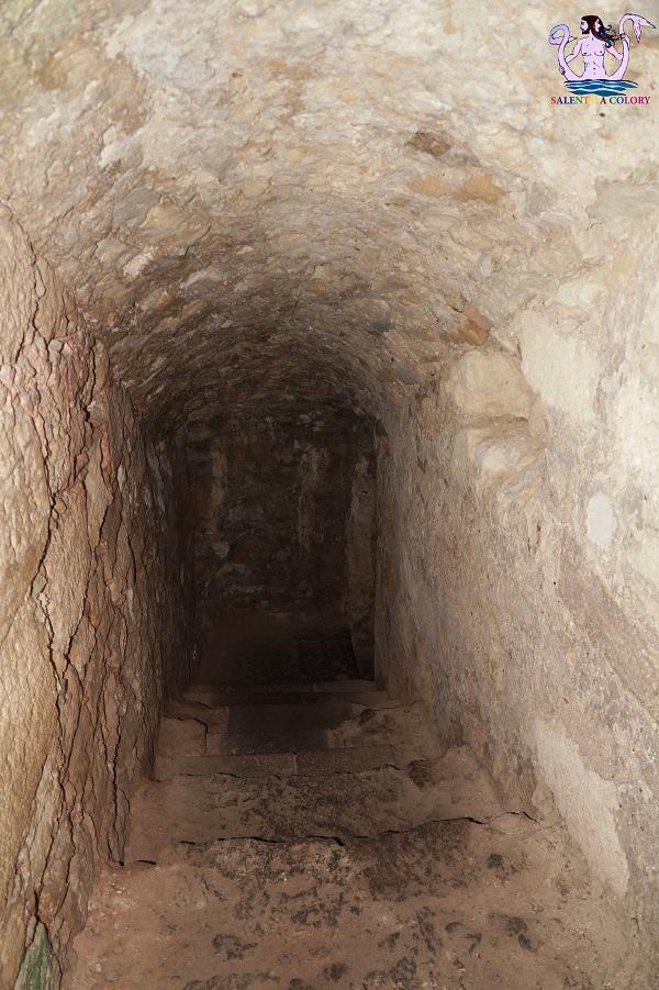 I sotterranei del castello di Otranto