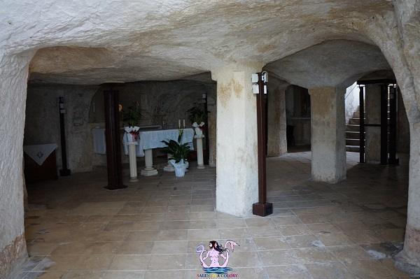 La cripta della Madonna della Consolazione a San Cassiano