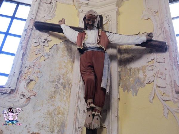 Gallipoli, San Francesco e il Mal Ladrone