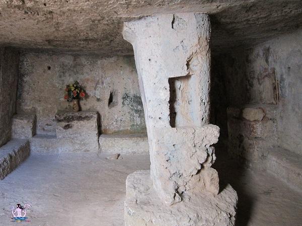 sternatia rupestre, cripta di san sebastiano