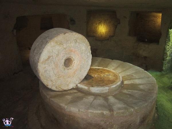 frantoio presso cripta di carpignano