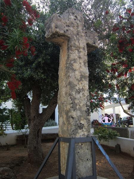 menhir croce di trepuzzi